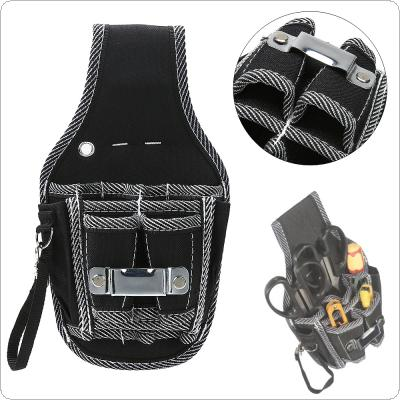 Multifunction Durable Hardware Tool Bag Electricians Waist Pocket Tool with Nylon  Pocket for Home / Industrial Maintenance