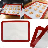 Food Grade Thermal Stability Glass Fiber Silicone Pad with Non Stick Mat Kneading Mat for Oven Roasting