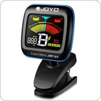 JOYO JMT-03 Color LCD Display 360 Degree Rotate Guitar Clip On Tuner & Metronome