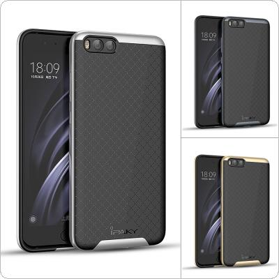 IPAKY TPU + PC Soft Silicone Anti-friction Phone Cases with Metal Touching for XIAOMI Note 3