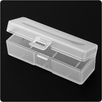Portable Plastic Lithium Battery Box with Protective and Storage Function for 18650 Battery