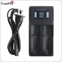 Trustfire TR-019 Intelligent Fast 2 Slots Charger Li-ion Battery Charging for 18650 / 26650 / 25500 / 21700 / 20700 / 14500