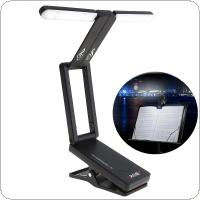 Rechargeable Music Stand Lamp Folding LED Clip-on Light for Guitar Piano Light and Stage Lighting