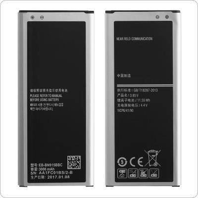 EB-BN915BBC 3.85V 3000mAh Rechargeable Built-in Li-ion Replacement Battery Phone Accumulator for Samsung NOTE Edge N9150 N915k N915L