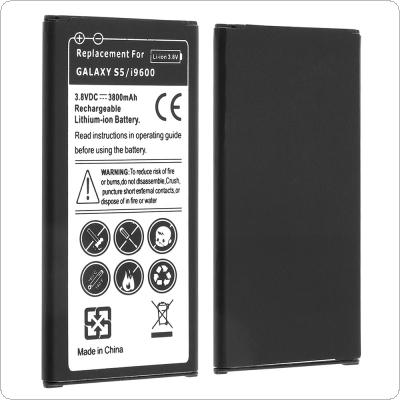 EB-BG900BBC 3.8V 3800mAh Rechargeable Built-in Li-ion Replacement Battery Phone Accumulator for Samsung Galaxy S5 / G900F / G9008 / I9600