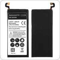 EB-BG920ABE 3.85V 2850mAh Rechargeable Built-in Li-ion Replacement Battery Phone Accumulator for Samsung S6 / G9200