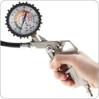 ABS+Metal Precision Electronic Digital Tire Gauge with Night Vision for Car Tire