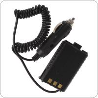 Car Charger Back Battery Eliminator for BaoFeng UV-5R Dual Band Radio