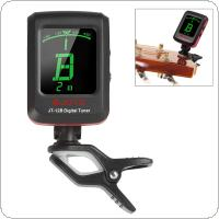 JOYO JT-12B Mini Clip-on Digital Guitar Bass Violin Tuner with LCD Backlight