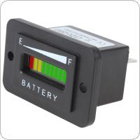 12/24V 36V 48V Three color 10-Bar LED Battery Indicator Meter Charge Indicator