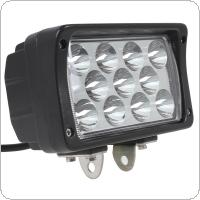 6 Inch 12V/24V 2145LM 33W Waterproof LED Work Light for Motorcycle / Tractor / Boat / 4WD Offroad / SUV / ATV