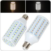 16W E27 86 x 5050 SMD LED Light High Bright Warm White / White Corn Bulb