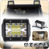 4 Inch 60W 8000LM LED Work Light with Two Rows light Bars for Off-road Car / Pickup / Wagon