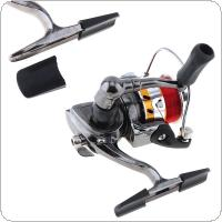 Mini 100 Metal Fishing Reel Palm Size Spinning Reel with Fishing Line for Ice Fish Pen Fishing Rod