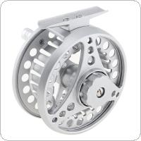Aluminum Alloy Fly Fishing Reel 7/8 Large Former Ice Fishing Reel Left / Right Interchangeable