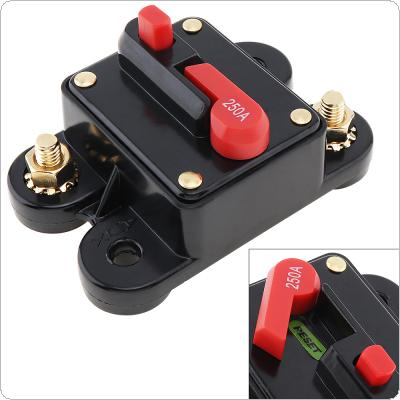 250A DC 12V  Car Audio Amplifier Circuit Breaker Fuse Holder AGU Style Stereo Amplifier Refit