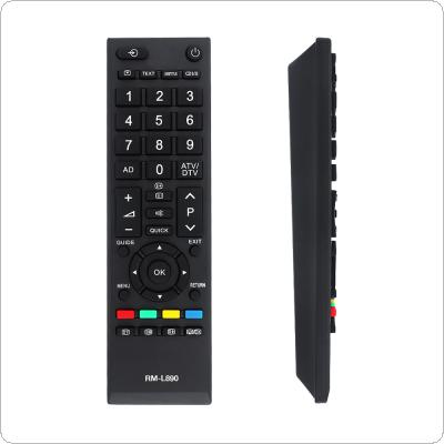 Universal TV Remote Control Replacement Remote Controller with 8M Transmission Distance for Toshiba CT-90326 / CT-90380 / CT-90336 / CT-90351