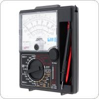 YX- 360TRD Mini Portable Poin-ter Multimeter with One Pair Test Pen for Measuring DC AC Voltage and DC Current