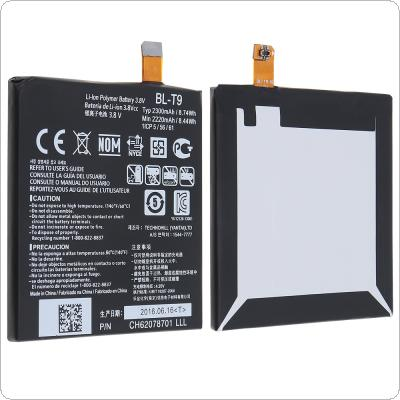 BL-T9 3.8V 2220mAh Phone Built-in Original Li-ion Replacement Battery with Battery Cells PTC Protection for LG Nexus 5 BL-T9 / E980 / GD820 / D821 / BLT9