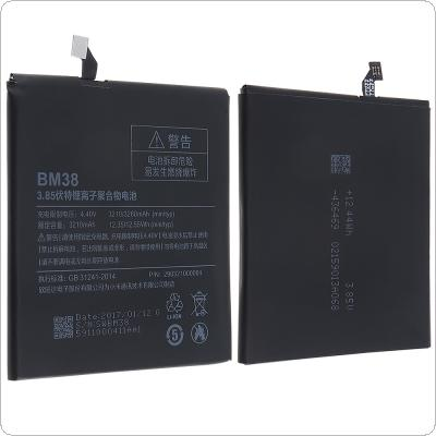 BM38 3.85V 3210mAh Rechargeable Built-in Polymer Li-ion Replacement Battery Phone Accumulator for Xiaomi 4S