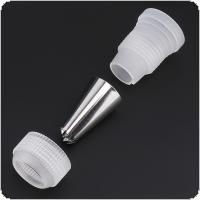 28pcs/set Stainless Steel Nozzle Sets PEVA Piping Bag Converter for Making Cakes / Biscuit / Cookies / Chocolate / Pie