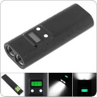 Power Bank Battery Charger with Dual USB LCD Capacity Display Support Flashlight Lighting Function for Li-ion 18650 Rechargeable Battery