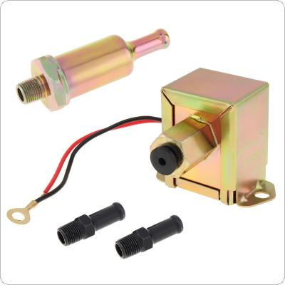 12V Universal  Petrol Gasoline Electric Fuel Pump 3797522 4299544  Low Pressure for Toyota