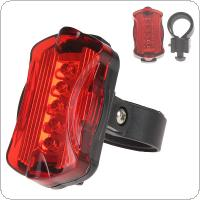 Waterproof Bike Bicycle 5 LED Rear Safety Light for Mountain Bike