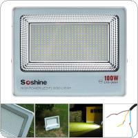 8000 Lumens AC180-265V Waterproof 100W 400 PCT2835 LED White Light Floodlight with 120 Degree Luminescence Angle for Outdoor / Projectors / Landscape / Garden