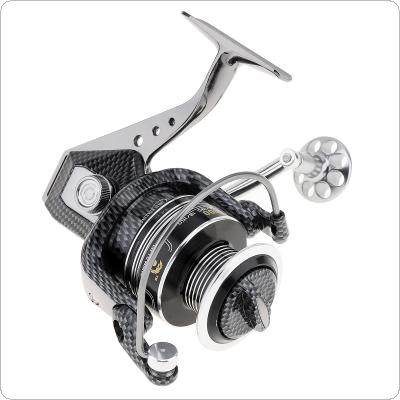 5000 Series 12+1BB 5.5:1 Full Metal Spinning Fishing Reel Max Drag 15KG / 33LB with Double Line Cup