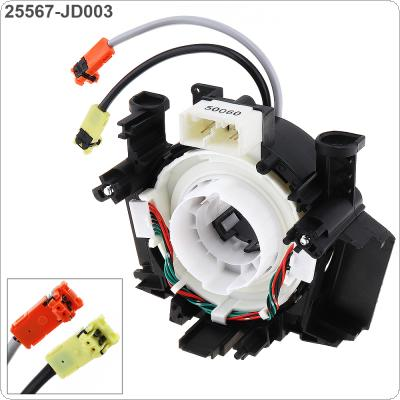 Clock Spring Spiral Cable Steering Wheel Hairspring 25560-JD003 for Nissan Pathfinder Qashqai