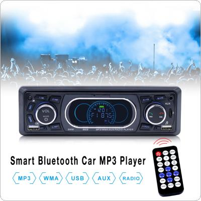 1Din 12V  In-Dash Bluetooth Car Stereo FM Radio MP3 Audio Player Support USB / TF / AUX / FM / Phones Charge