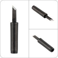 900M-T-K Solder Tip Lead-free Black Metal Soldering Iron Tips for Hakko / 936 Soldering Rework Station