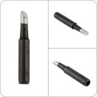 900M-T-4C Solder Tip Lead-free Black Metal Soldering Iron Tips for Hakko / 936 Soldering Rework Station