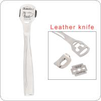 Stainless Steel Leather Craft Skiving Tool for Thinning Leather Tools
