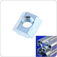2020 Sliding Nut with Screw Holes High Galvanized Surface European Standard for Connecting Profile Accessories
