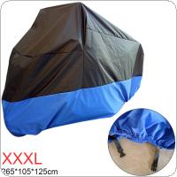 XXXL 180T Universal Motorcycle Cover UV Protector Waterproof Rain Dustproof Anti-theft Motor Scooter Covers