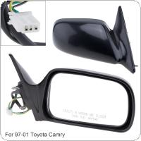 Non Folding Durable Right Side Mirror Right Hand RH Mirror for 97-01 Toyota Camry CE / LE / XLE Sedan 4-Door