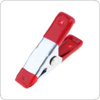 2 Inch Multifunction Metal Sheet Spring Clamps Tent Clip with A-type and Surface Galvanized for Home Office Use