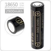 LiitoKala Lii-29A 18650 2900mAh 3.7V Rechargeable Li-ion Battery with 10A Discharge Current for Flashlights / Headlamps / Bicycle Lamps