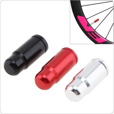 Ultralight Aluminum Alloy Presta Valve Cap Bike Wheel Tire Covered Protector Valve for Bicycle 3 Colors Optional