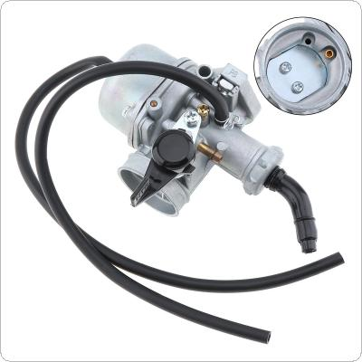 PZ22mm 36mm Curved Pipe Motorcycle Carburetor with Two Black Hose for 110cc 125cc 140cc 150cc ATV  Go Karts Pit Dirt Bike Quad Scooter Bike