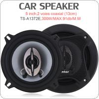 TS-A1372E 5 Inch 300W Car HiFi Coaxial Speaker Vehicle Door Auto Audio Music Stereo Full Range Frequency Speakers for Cars