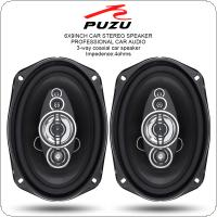 "PZ-6922C 2pcs 6x9"" Inch 360W 3 Way Car Coaxial Auto Audio Music Stereo Full Range Frequency Hifi Speakers Non-destructive Installation"