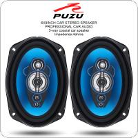 "PZ-6962B 2pcs 6x9"" Inch 360W 3 Way Car Coaxial  Auto Audio Music Stereo Full Range Frequency Hifi Speakers Non-destructive Installation"