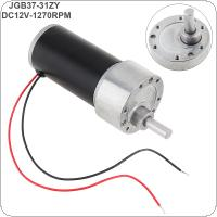37GB-31ZY DC12V 1270RPM High Torque Reducer Motor with Tubular Permanent Magnet for Intelligent Toy / Device