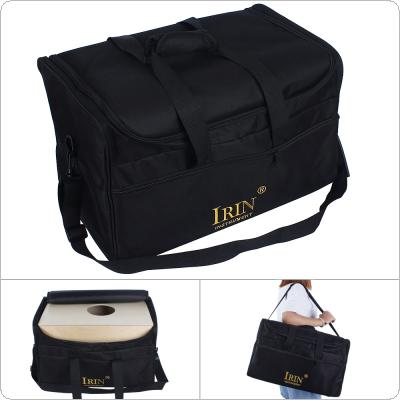 600D Oxford Cloth Cajon Drum Storage Bag 5mm Padded Cotton Cajon Gig Case Shoulder Handle Bag