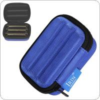 Portable Harmonica Storage Box Oxford Cloth Sponge Lightweight Shockproof Case for 10 Holes Harmonica