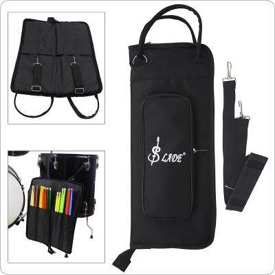 Black Oxford Cloth Drumstick Backpack Bag Jazz Drum Stick Music Book Storage Large Capacity Handbag