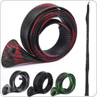 170cm Fishing Rod Protector Mesh Cover Telescopic Fishing Rod Sleeves 4 Colors Optional